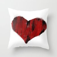 Cupid Hates Me Throw Pillow
