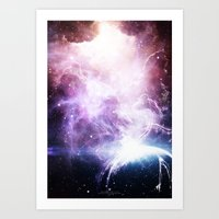 Space Cloudz Art Print