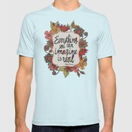 Everything You Can Imagi… Mens Fitted Tee Light Blue SMALL