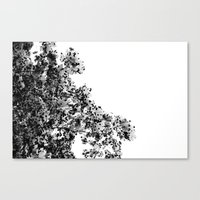 Polka dotted Tree Canvas Print