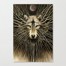 Wolf Roots Canvas Print