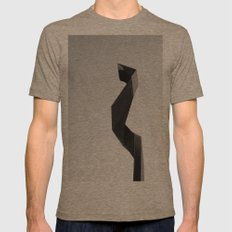 Sculture Mens Fitted Tee Tri-Coffee SMALL
