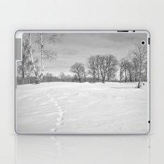 Footprints in the snow Laptop & iPad Skin