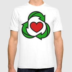 U cAN EvEn RecIcLe ThIs Mens Fitted Tee SMALL White