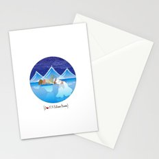 I {❤} XX Eskimo Kisses Stationery Cards