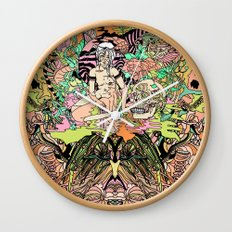 Luminous for a Moment Wall Clock