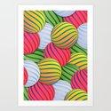 Melons Art Print