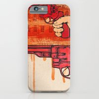 iPhone & iPod Case featuring Bang by Kirstie Battson