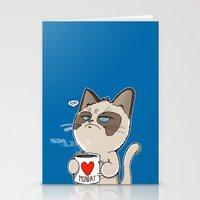 Grumpy's Mid-week Blues Stationery Cards