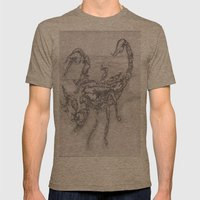 emperor scorpion Mens Fitted Tee Tri-Coffee SMALL