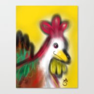 Thanksgiving Revenge Tur… Canvas Print