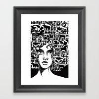 Shaman Framed Art Print