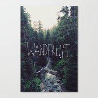 Wanderlust: Rainier Cree… Canvas Print