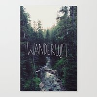 Wanderlust: Rainier Creek Canvas Print
