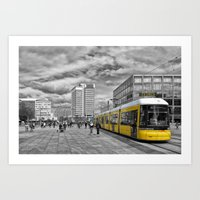 Berlin Alexanderplatz II Art Print