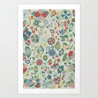 Frutos Art Print
