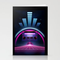 Boombox: Echos Of Tomorr… Stationery Cards