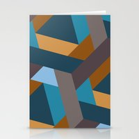 Contrasts In The City Stationery Cards