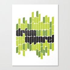 Drivn Apparel, leaves 18x24 Canvas Print