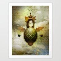 Mothe Art Print