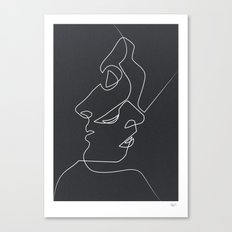 Close Noir Canvas Print