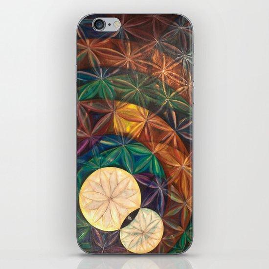 Tetrahedral Nodes HDR iPhone & iPod Skin