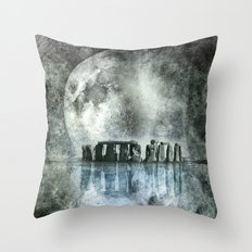 Dreamscape - Stonehenge Throw Pillow