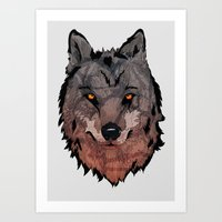 Wolf Mother Art Print