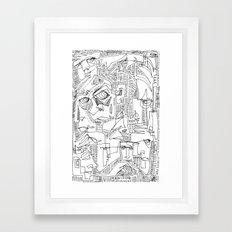Hooligans Framed Art Print