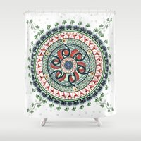 Surrounded By Classics M… Shower Curtain