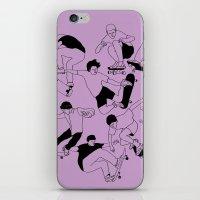 Sidewalk Surfing iPhone & iPod Skin