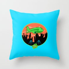 Unisex Version FJM  Planes and Jane's Throw Pillow