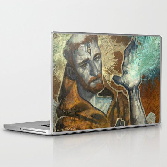 Saint Francis Revisited Laptop & iPad Skin