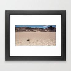 A Rock that moves Framed Art Print