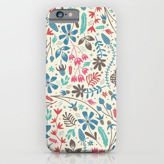 Retro Blooms iPhone & iPod Case
