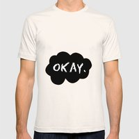 Okay Mens Fitted Tee Natural SMALL