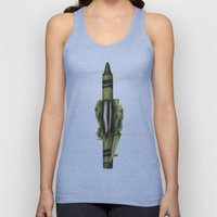 To The Core: Green Unisex Tank Top