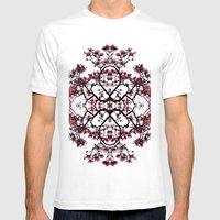 Magnolia Silhouette Mens Fitted Tee White SMALL