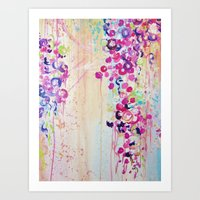 DANCE OF THE SAKURA - Lo… Art Print