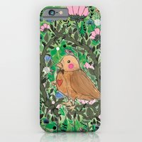 iPhone & iPod Case featuring Nature is within Us by Jo Cheung Illustration