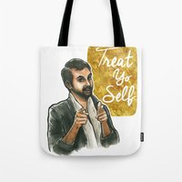 Treat Yo Self! Tote Bag