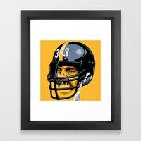 Black Jack Framed Art Print
