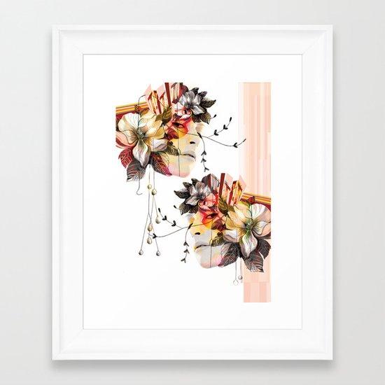 Double Vision 2 Framed Art Print