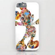 Mickey Mouse Silhouette  iPhone 6 Slim Case