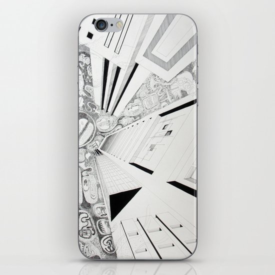 The thoughtful sky iPhone & iPod Skin
