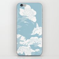 Japanese Flower iPhone & iPod Skin
