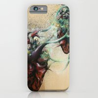iPhone & iPod Case featuring Arrested Vascular Fusion of Two Entities in Need  by Daryll Peirce