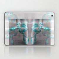 Ballet Shoe Blue Reflect… Laptop & iPad Skin