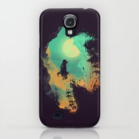 Galaxy S4 Cases featuring Leap of Faith by Budi Kwan