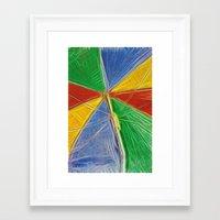 Summertime Shade Framed Art Print